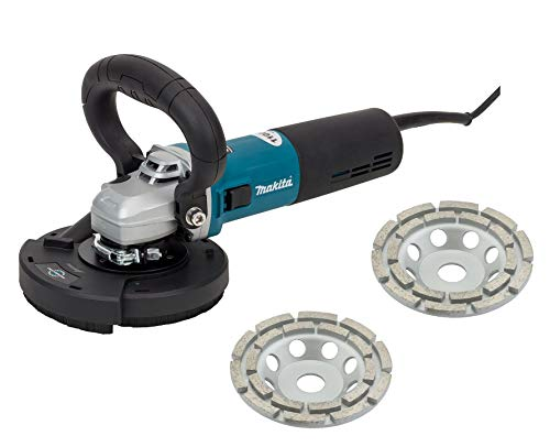 Betonschleifer Bestseller 2021: BETONSCHLEIFER SET/SANIERUNGSFRÄSE SET/WINKELSCHLEIFER SET 1100 WATT 125MM