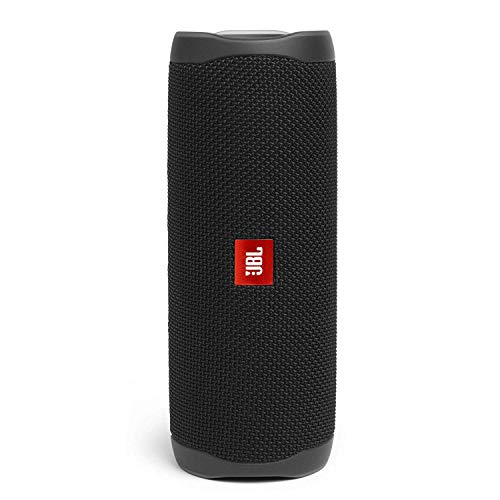 Bluetooth Box Bestseller 2020: JBL Flip 5 Bluetooth Box (Wasserdichter, portabler Lautsprecher mit umwerfendem Sound, bis zu 12 Stunden kabellos Musik abspielen) schwarz