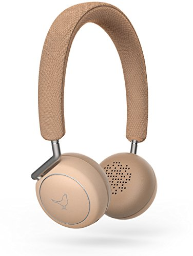 Bluetooth Lautsprecher Libratone Bestseller 2019: Libratone LP0030000EU5004 Q Adapt drahtloser Active Noice Cancelling On-Ear Kopfhörer (Bluetooth, 4-stufiges ANC, Touchbedienung) elegant nude