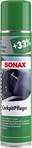 Cockpitreiniger Bestseller 2020: SONAX 356300 CockpitPfleger New Car, 400ml