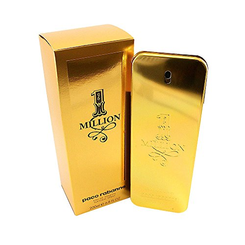 One Million Herren 200ml Bestseller 2020: Paco Rabanne One Million homme/ men, Eau de Toilette, Natural Spray, 1er Pack (1 x 200 ml)