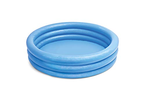 Intex Kinderpool Bestseller 2021: Intex Kinderpool 3-Ring-Pool Crystal Blue, Blau, Ø 147 cm