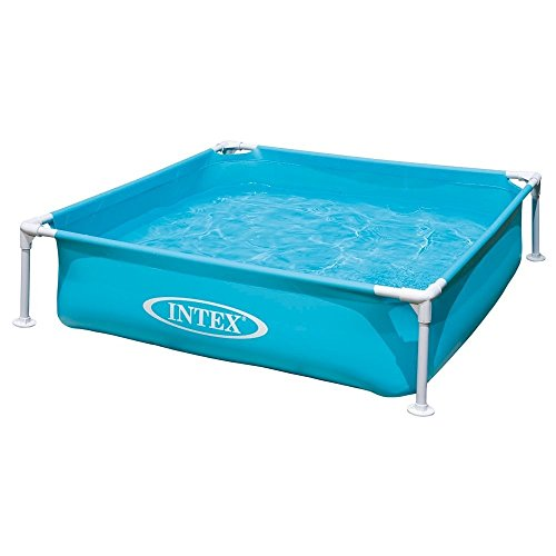 Intex Kinderpool Bestseller 2021: Intex Kinderpool Frame Pool Mini, Blau, 122 x 122 x 30 cm