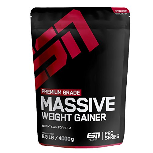 Kohlenhydrate Shake Bestseller 2021: ESN Massive Weight Gainer, Chocolate Cream, 4kg