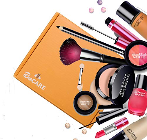 Kosmetik Proben Bestseller 2019: Beauty Mystery BEE-CARE Box gefüllt mit Luxus make-up marken Khroma Kardashian- Bellapiere
