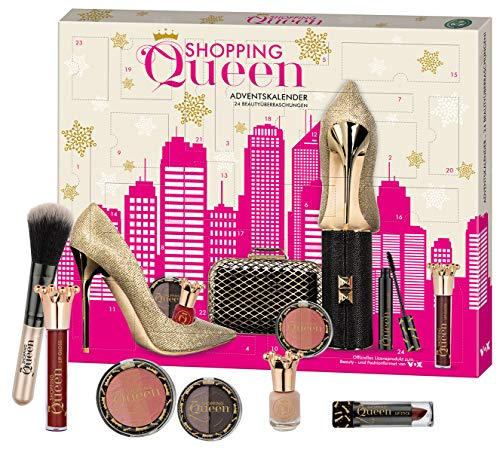 "Kosmetik Proben Bestseller 2019: Shopping Queen Beauty-Adventskalender - exklusiver Kalender für alle Fans der VOX Styling-Doku ""Shopping Queen"""