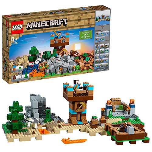 Lego Minecraft Bestseller 2019: LEGO Minecraft 21135 - Die Crafting-Box 2.0