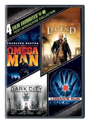 Logan Bestseller 2019: 4 Film Favorites: Post-Apocalypse (I Am Legend, Logan's Run, Dark City Director's Cut, The Omega Man) by Various
