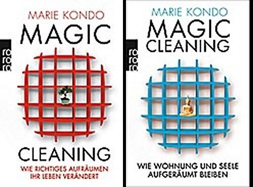 Magic Cleaning Bestseller 2019: Magic Cleaning im Bundle ! Band 1+2