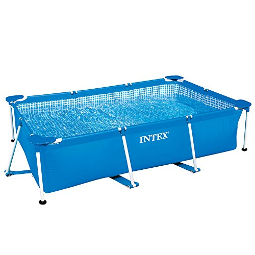 Intex Kinderpool Bestseller 2021: Intex Rectangular Frame Pool - Aufstellpool - 260 x 160 x 65 cm