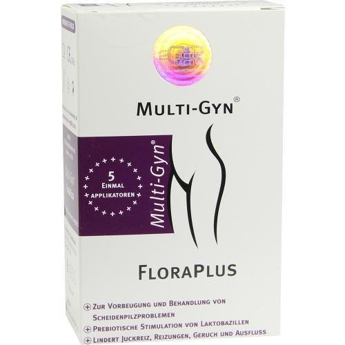 Multigyn Floraplus Bestseller 2019: MULTI GYN FloraPlus Gel 5X5ml PZN: 6916208 by Ardo medical GmbH