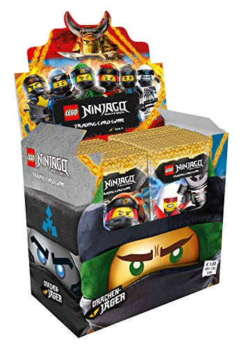 Ninjago Karten Bestseller 2020: Top Media 180453 - Lego Ninjago Serie IV, Display mit 50 Boostern