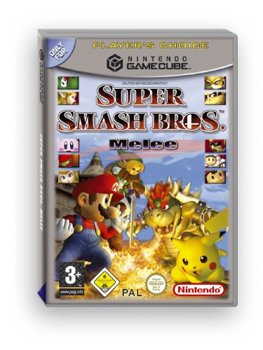 Nintendo Gamecube Spiele Bestseller 2020: Super Smash Bros. Melee (Player's Choice)