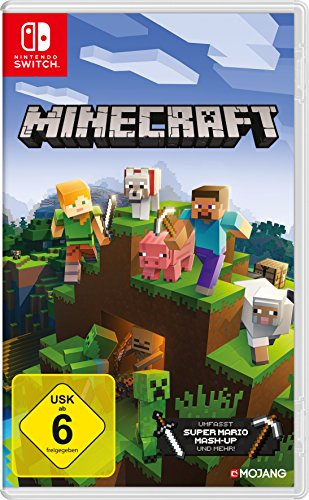 Switch Spiele Bestseller 2019: Minecraft: Nintendo Switch Edition [Nintendo Switch]