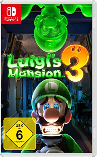 Nintendo Switch Spiele Bestseller 2021: Nintendo Luigi's Mansion 3 - [Nintendo Switch]