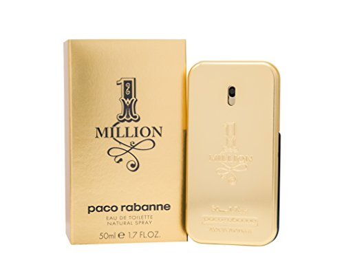 Herrendüfte Bestseller 2020: Paco Rabanne One Million homme/ men, Eau de Toilette, Vaporisateur/ Natural Spray, 1er Pack (1 x 50 ml)