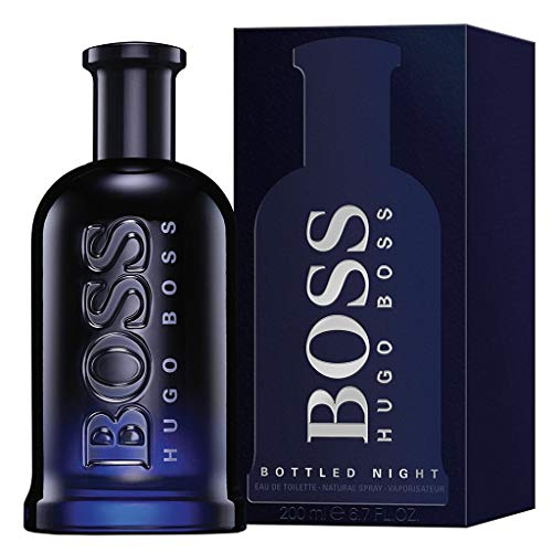 Parfüm Proben Herren Bestseller 2020: Hugo Boss Boss Bottled Night, Eau de Toilette Spray, 1er Pack (1 x 100 ml)