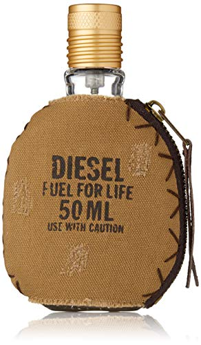 Männer Parfüm Bestseller 2020: Diesel Fuel For Life Pour homme/men, Eau de Toilette, Vaporisateur/Spray, 50 ml