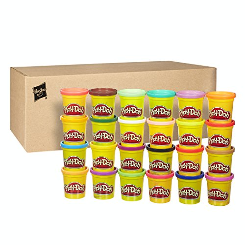 Play Doh Bestseller 2019: Play-Doh Hasbro 20383F03 Kollektion mit 24 Farben, Knete