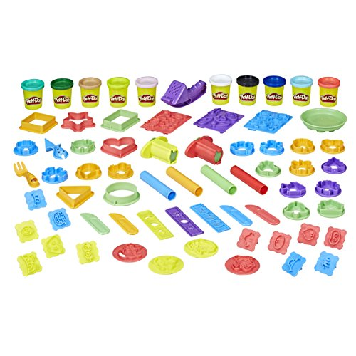 Play Doh Bestseller 2019: Play-Doh Hasbro E2542F03 Große Knetparty, Knete