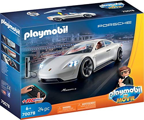 Playmobil Auto Bestseller 2020: PLAYMOBIL:THE MOVIE 70078 Rex Dasher's Porsche Mission E, Ab 6 Jahren