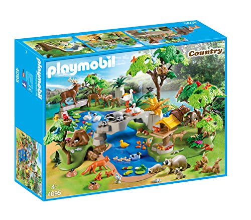 Playmobil Tiere Bestseller 2020: Playmobil 4095 80 Tiere am Seeufer, bunt