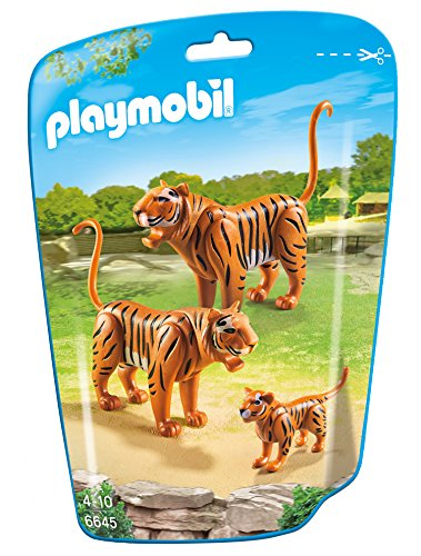 Playmobil Tiere Bestseller 2020: Playmobil 6645 - 2 Tiger mit Baby