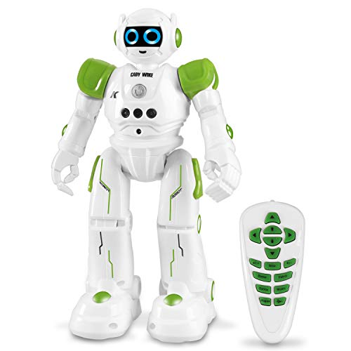 Robot Toy Bestseller 2021: HBUDS Robot Toy for Kids Smart Remote Control Robot with Gesture Control Perfect Gifts for Boys and Girls Learning, Programming, Walking, Dancing and Singing
