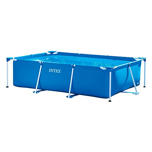Swimmingpool Komplettset Bestseller 2021: Intex Rectangular Frame Pool -Aufstellpool - 300 x 200 x 75 cm