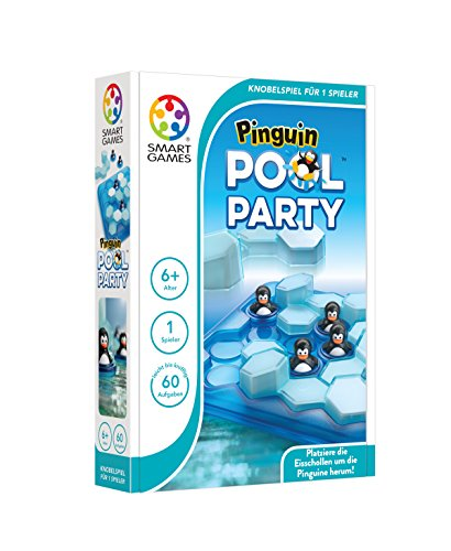 Smart Games Bestseller 2021: SMART Toys and Games GmbH SG431DE Pinguin Pool Party, bunt