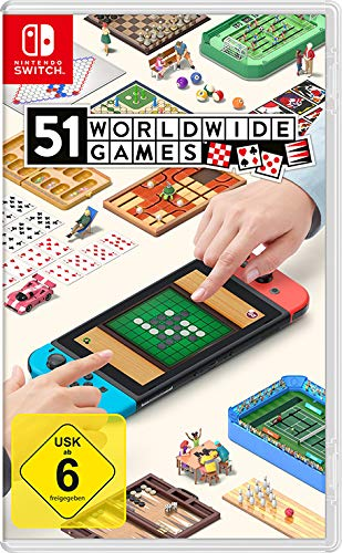 Nintendo Switch Spiele Bestseller 2021: 51 Worldwide Games [Nintendo Switch]