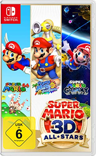 Nintendo Switch Spiele Bestseller 2021: Super Mario 3D All-Stars [Nintendo Switch]