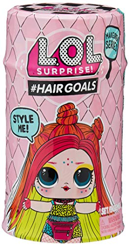 Surprise Bestseller 2020: L.O.L. Surprise! 557067E7C  #Hairgoals Doll - Makeover Series 2 - mehrfarbig