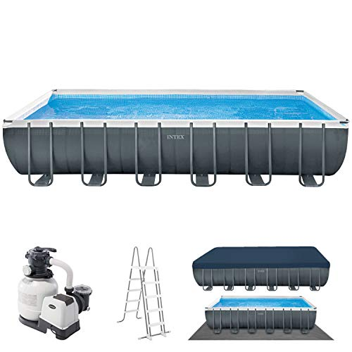 Swimmingpool Komplettset Bestseller 2021: Intex Swimming Pool 732x366x132 Frame Pool Set 26364