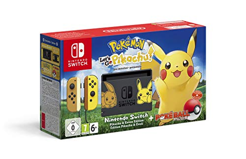 Switch Bestseller 2019: Nintendo Switch Pokémon: Let's Go, Pikachu! Bundle