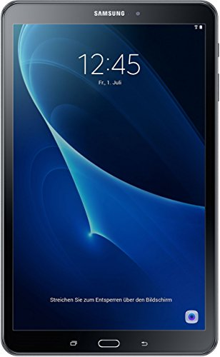 Tablet Bestseller 2019: Samsung Galaxy Tab A T580 25,54 cm (10,1 Zoll) Tablet-PC (1,6 GHz Octa-Core, 2GB RAM, 32GB eMMC, Wifi, Android 6.0) schwarz