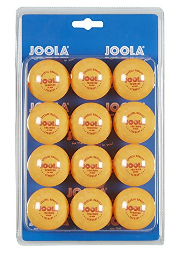 Tischtennisbälle Bestseller 2019: JOOLA Tischtennis-Bälle Training 40mm, Orange 12er Blister Pack