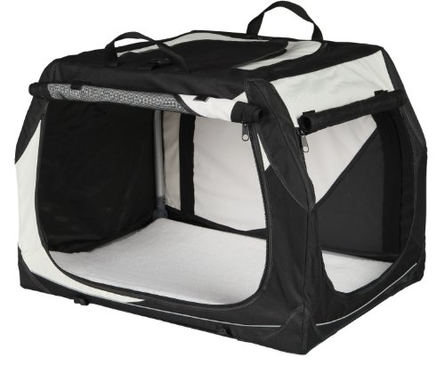 Hundetransportbox Bestseller 2021: Trixie 39721 Vario Transportbox, Größe S, 61×43×46 cm